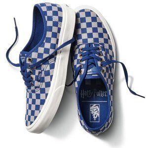 New! VANS x Harry Potter Authentic Shoes Ravenclaw